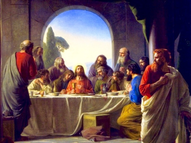 Jesus prays for his disciples.jpg